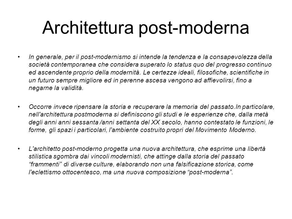 Architettura post-moderna