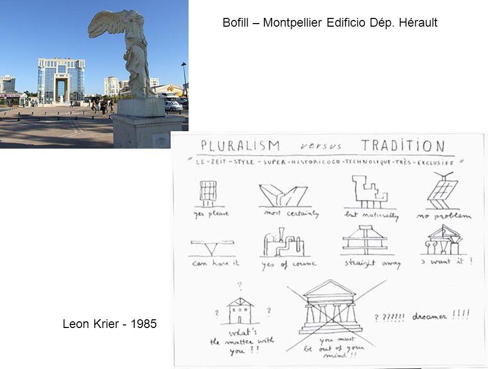 Bofill – Montpellier Edificio Dép. Hérault