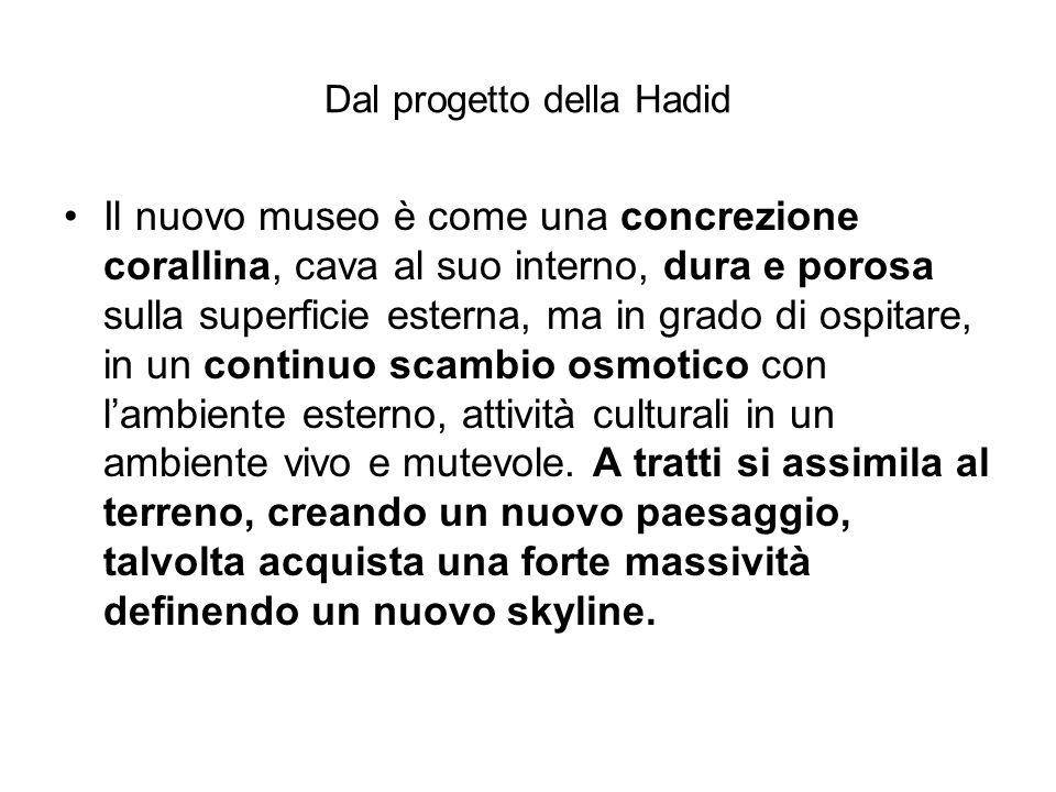 Dal progetto della Hadid