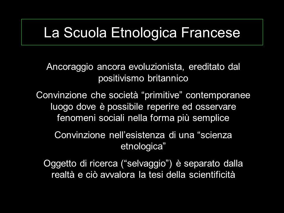 La Scuola Etnologica Francese