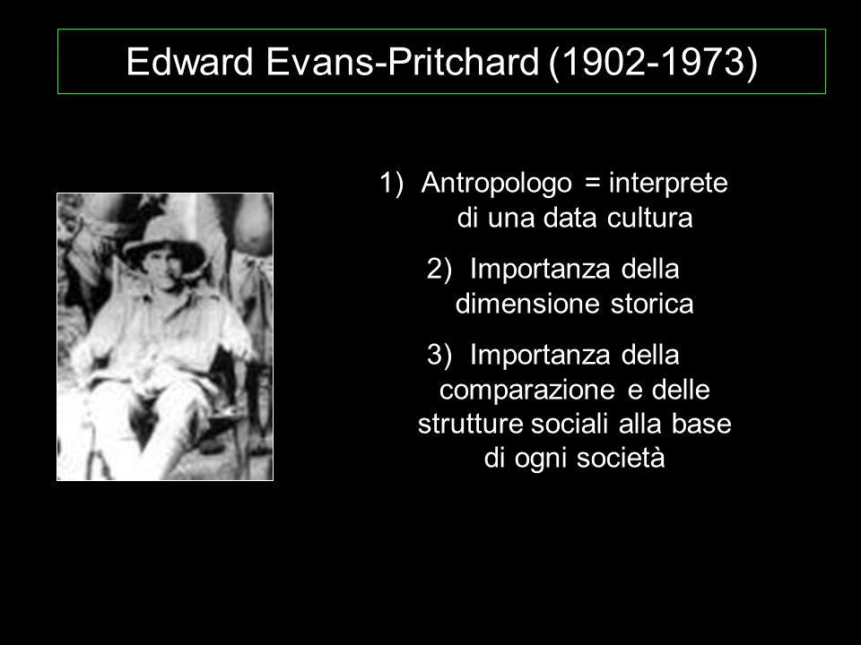 Edward Evans-Pritchard (1902-1973)