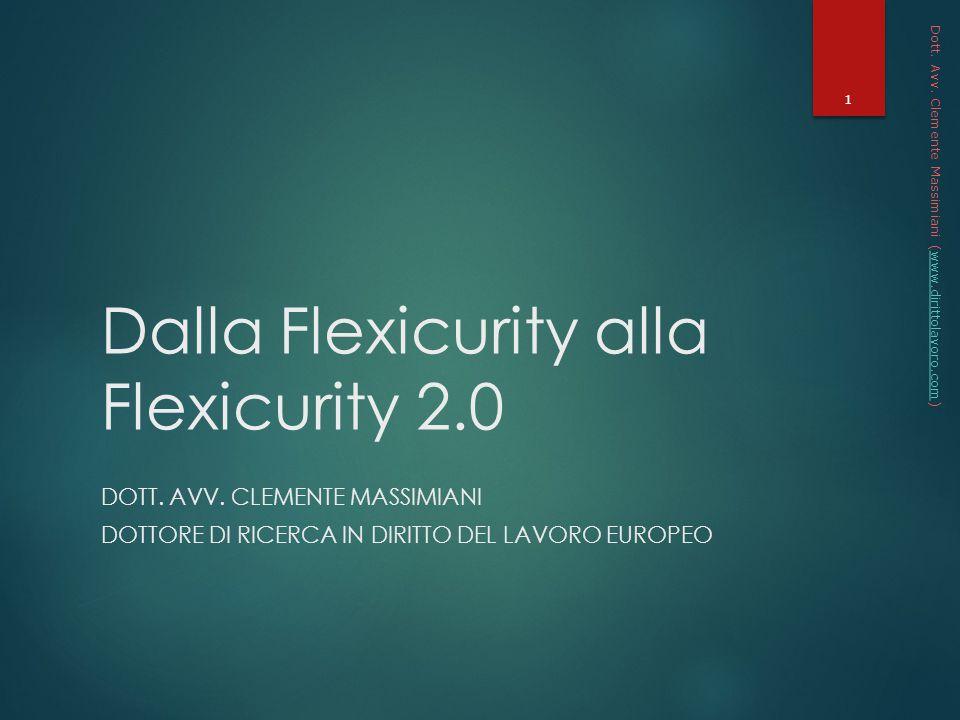 Dalla Flexicurity alla Flexicurity 2.0