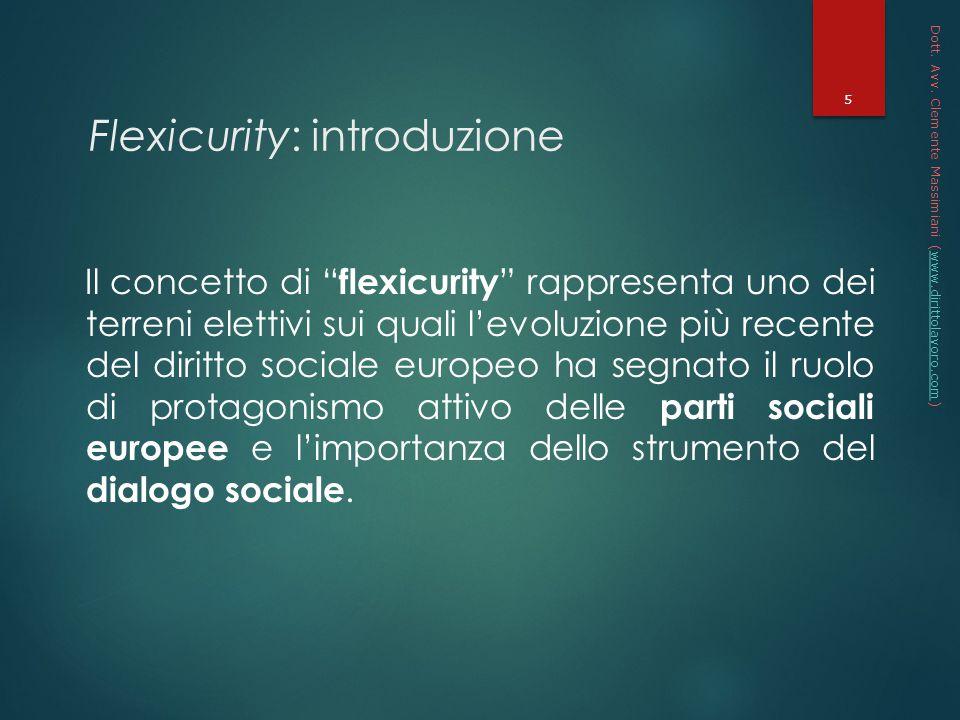 Flexicurity: introduzione