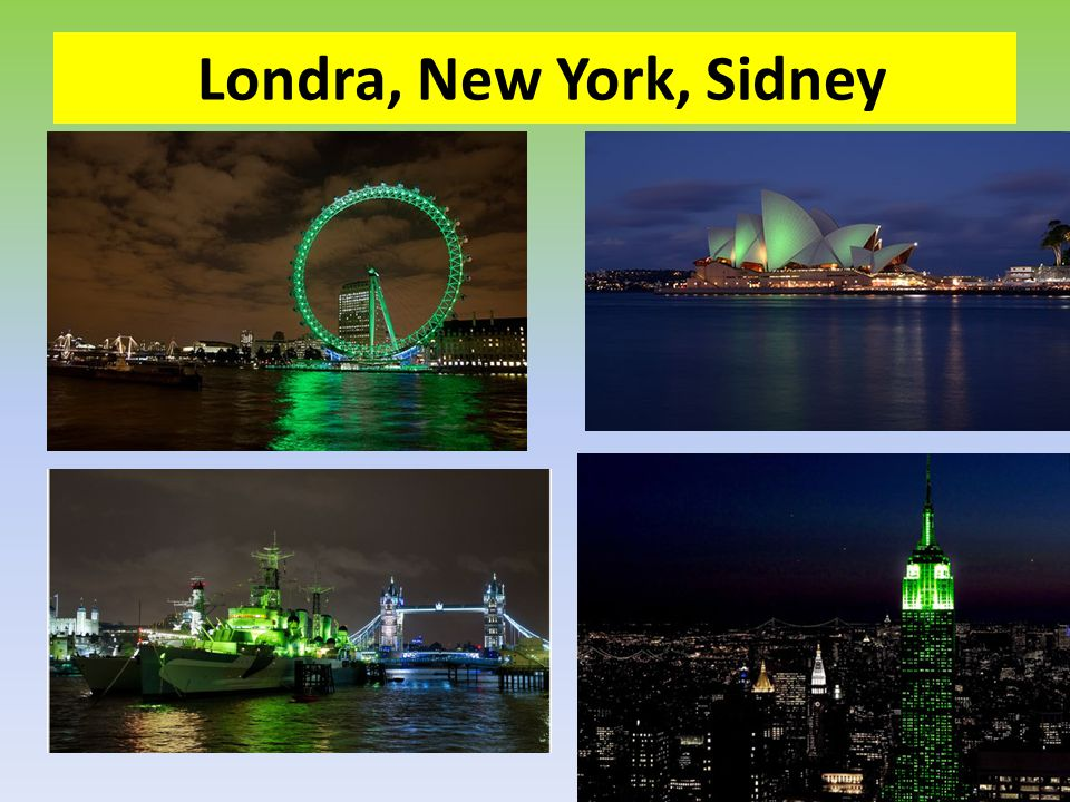 Londra, New York, Sidney