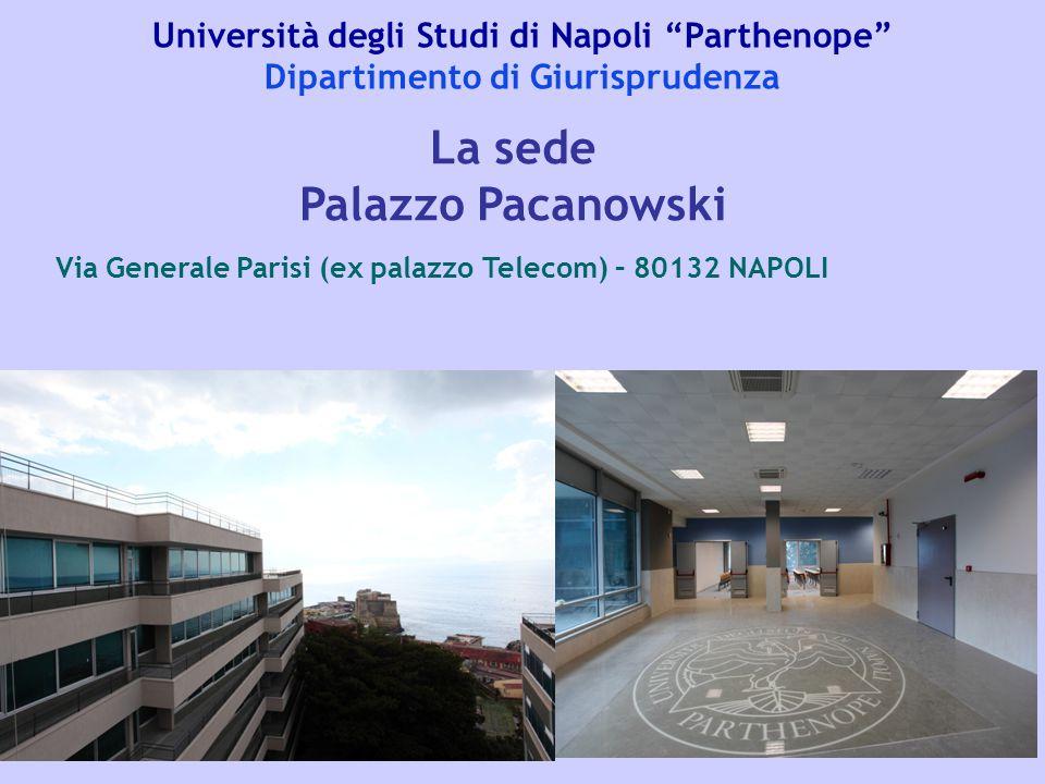La sede Palazzo Pacanowski