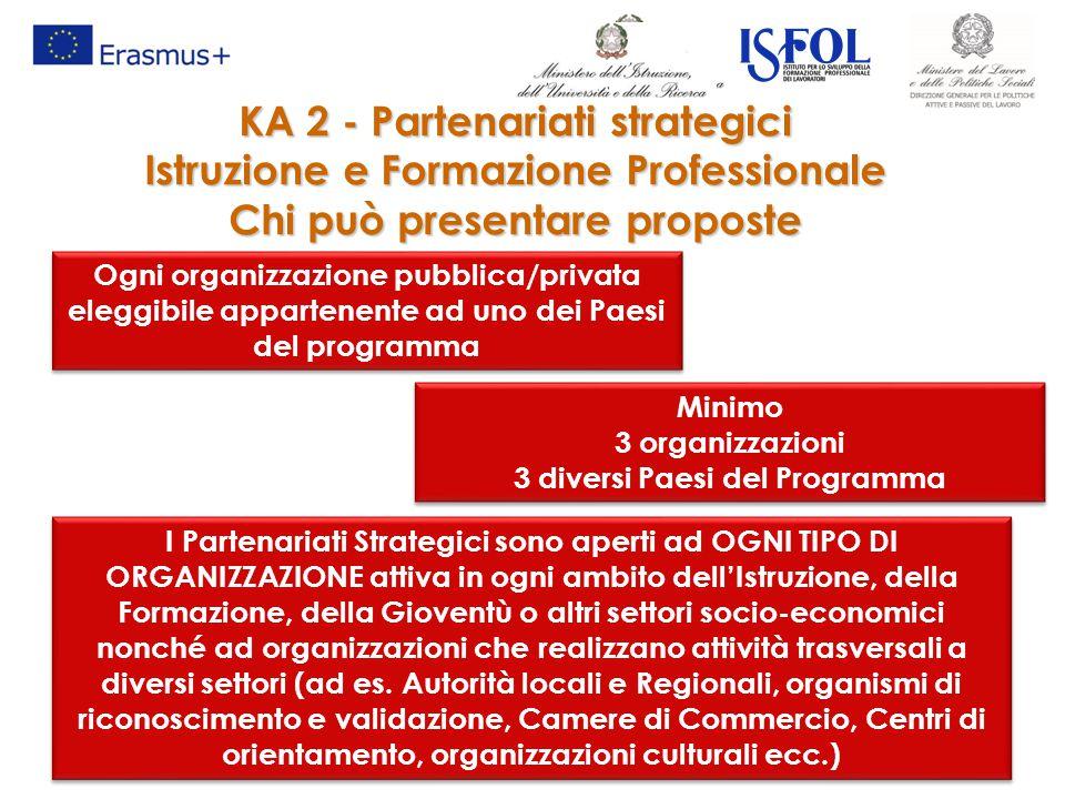 KA 2 - Partenariati strategici Istruzione e Formazione Professionale