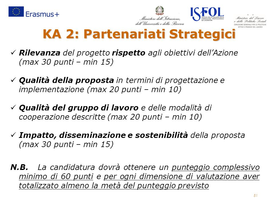 KA 2: Partenariati Strategici