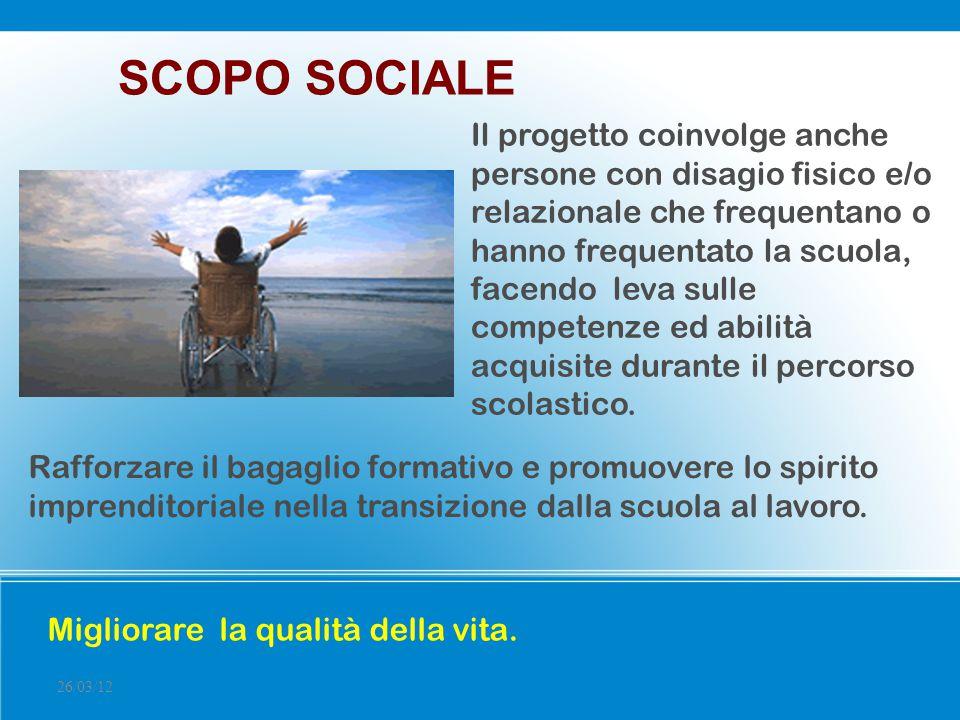 SCOPO SOCIALE