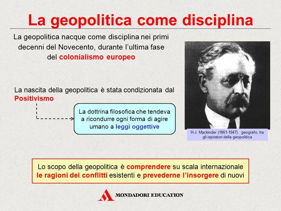 La geopolitica come disciplina