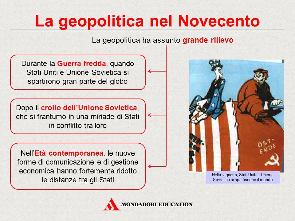 La geopolitica nel Novecento