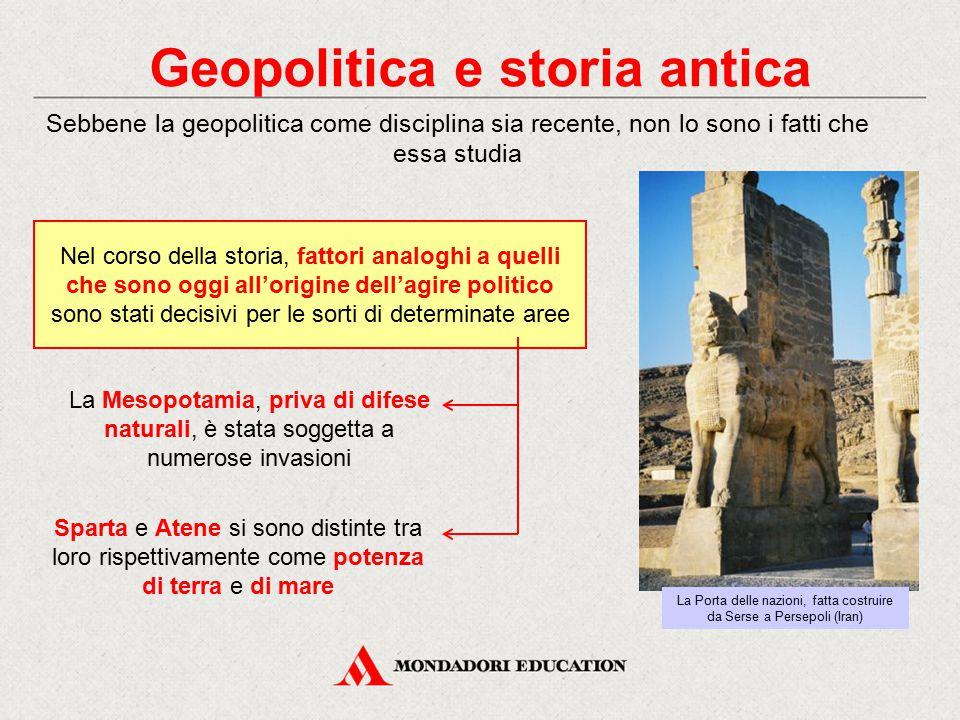 Geopolitica e storia antica