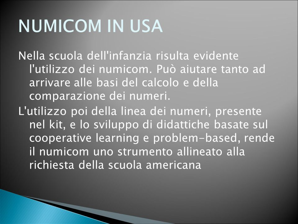 NUMICOM IN USA