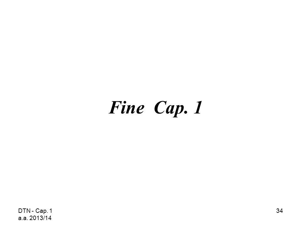 Fine Cap. 1 DTN - Cap. 1 a.a. 2013/14