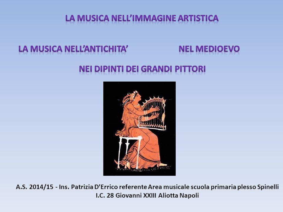 La MUSICA NELL'IMMAGINE ARTISTICA