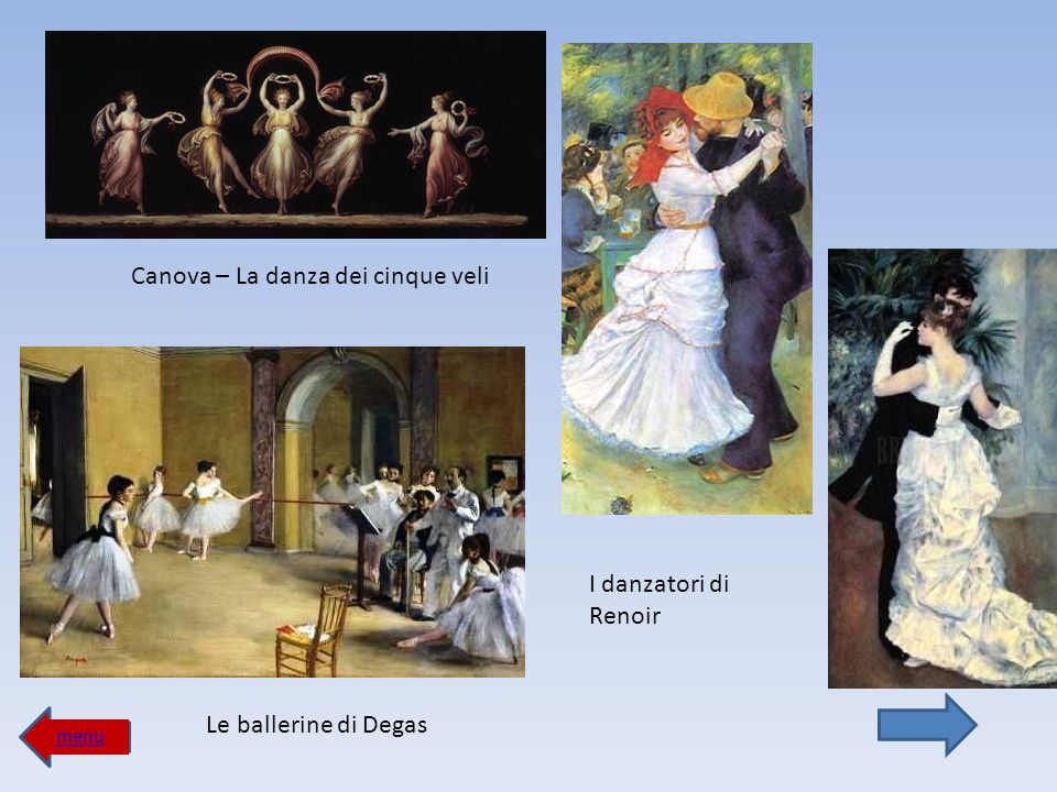 Canova – La danza dei cinque veli