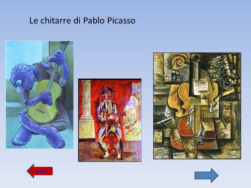 Le chitarre di Pablo Picasso