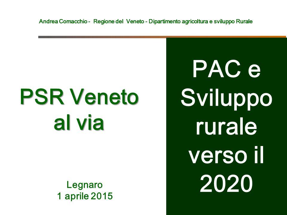 PAC e Sviluppo rurale verso il 2020