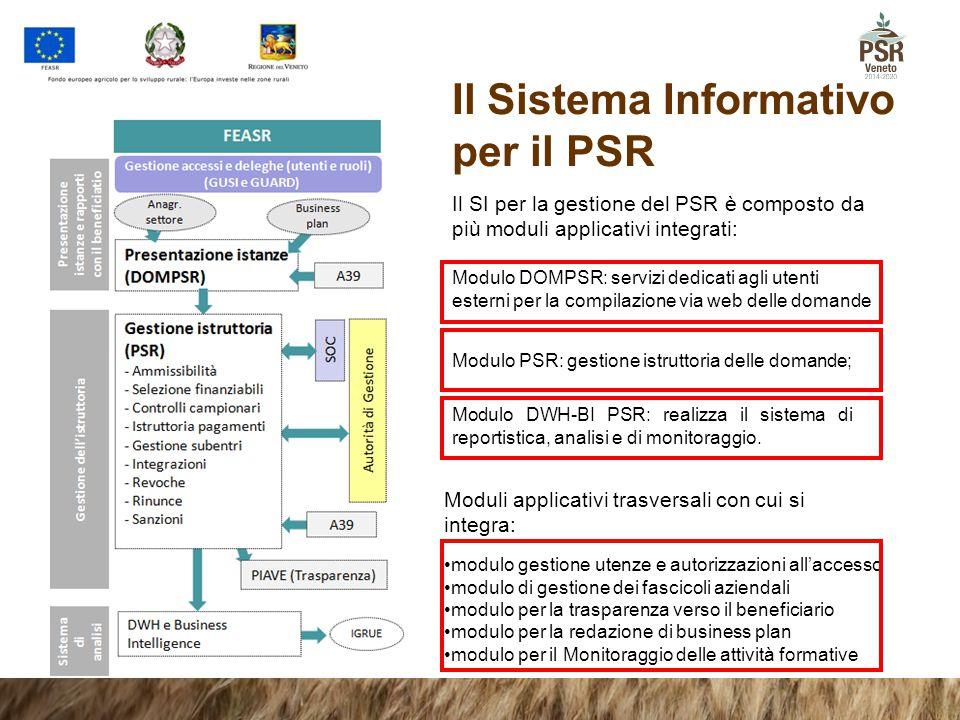Il Sistema Informativo per il PSR