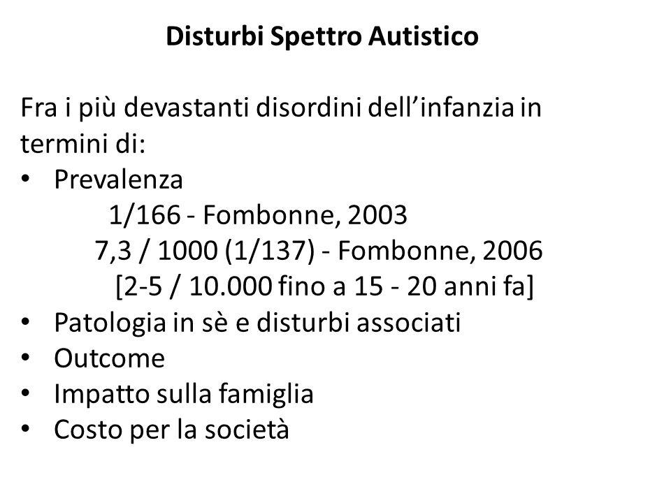 Disturbi Spettro Autistico