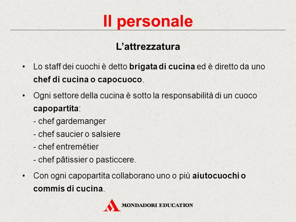 Struttura e organizzazione dei locali ristorativi ppt video online scaricare - Brigata di cucina ...