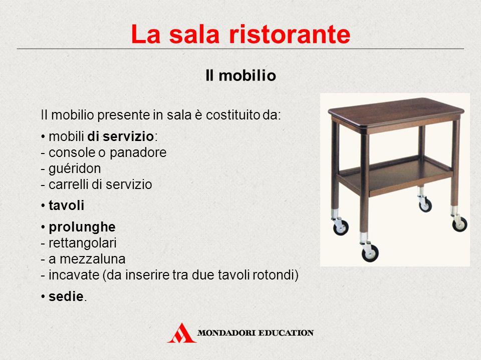 Struttura e organizzazione dei locali ristorativi ppt for Mobili per la sala