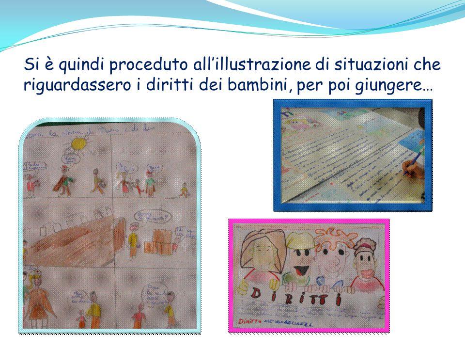 Si è quindi proceduto all'illustrazione di situazioni che riguardassero i diritti dei bambini, per poi giungere…