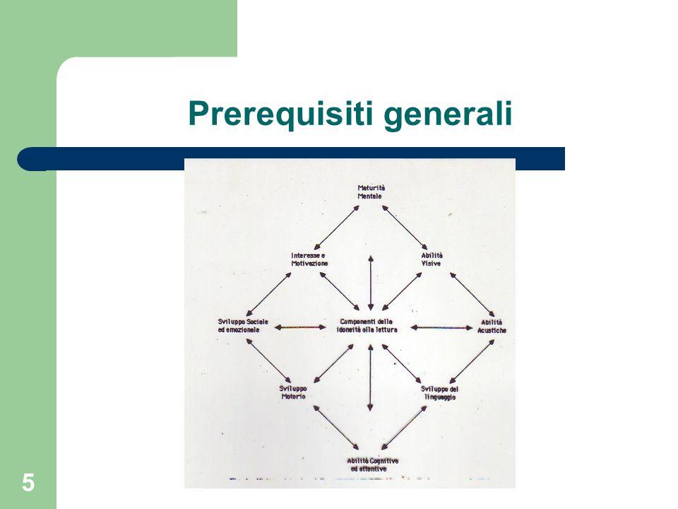 Prerequisiti generali