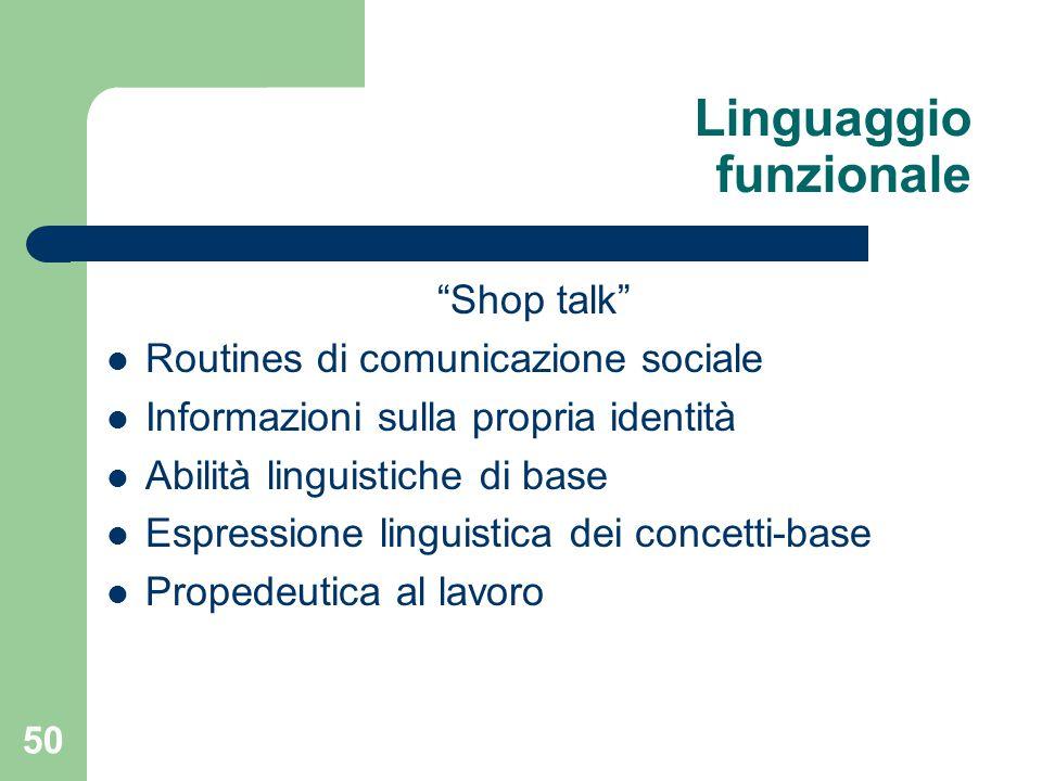 Linguaggio funzionale
