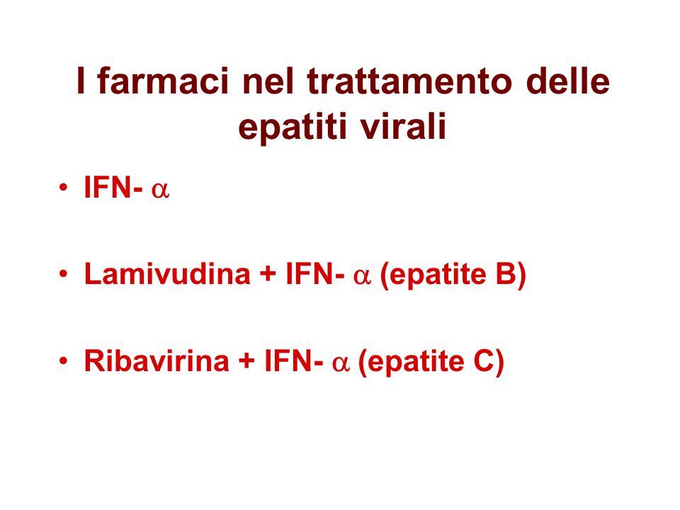 I farmaci nel trattamento delle epatiti virali
