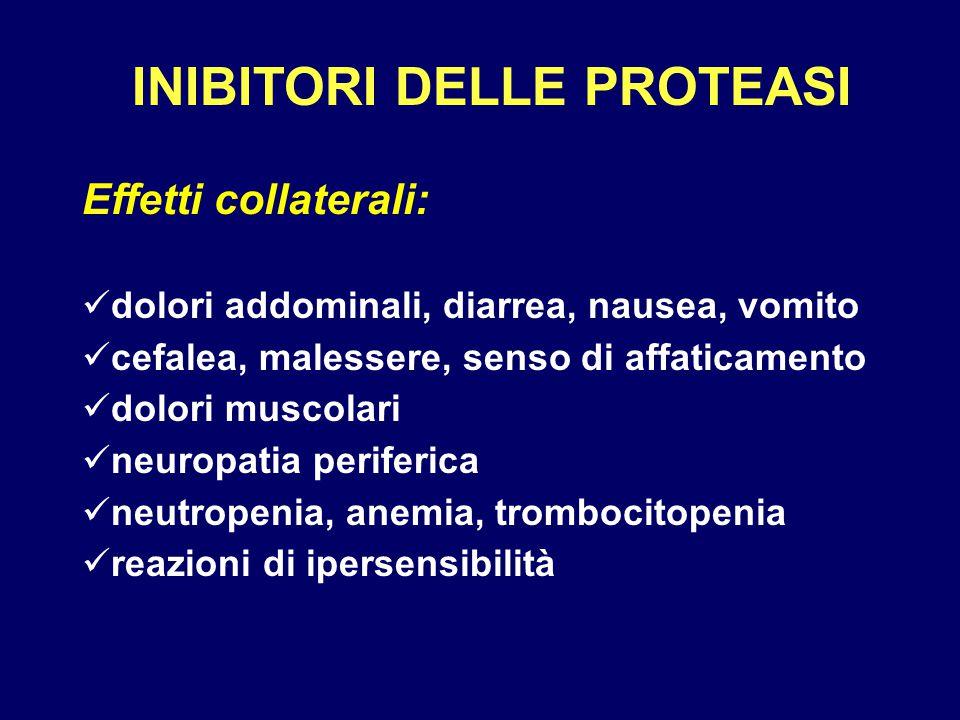 INIBITORI DELLE PROTEASI
