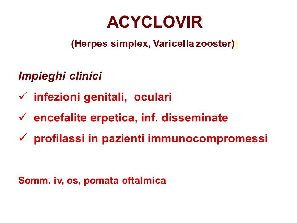 (Herpes simplex, Varicella zooster))
