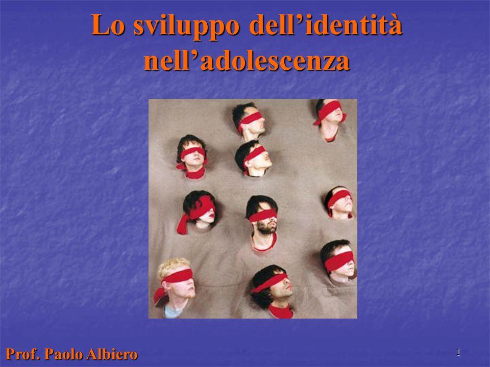 Lo sviluppo dell'identità nell'adolescenza