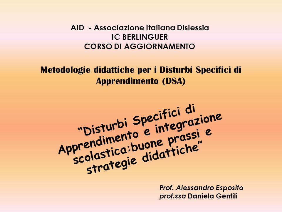 Metodologie didattiche per i Disturbi Specifici di Apprendimento (DSA)
