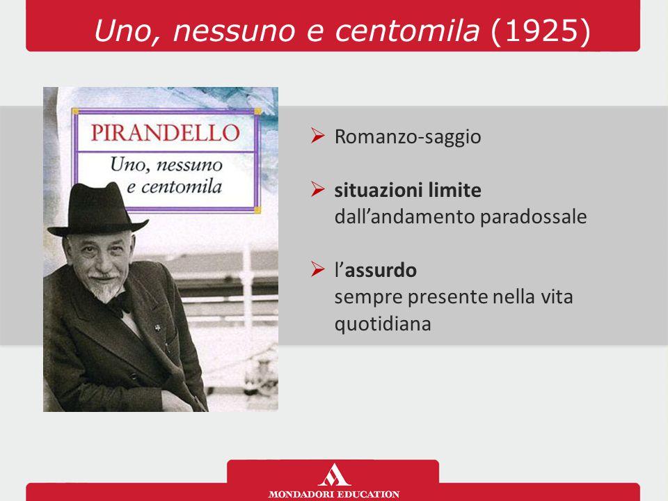 Uno, nessuno e centomila (1925)
