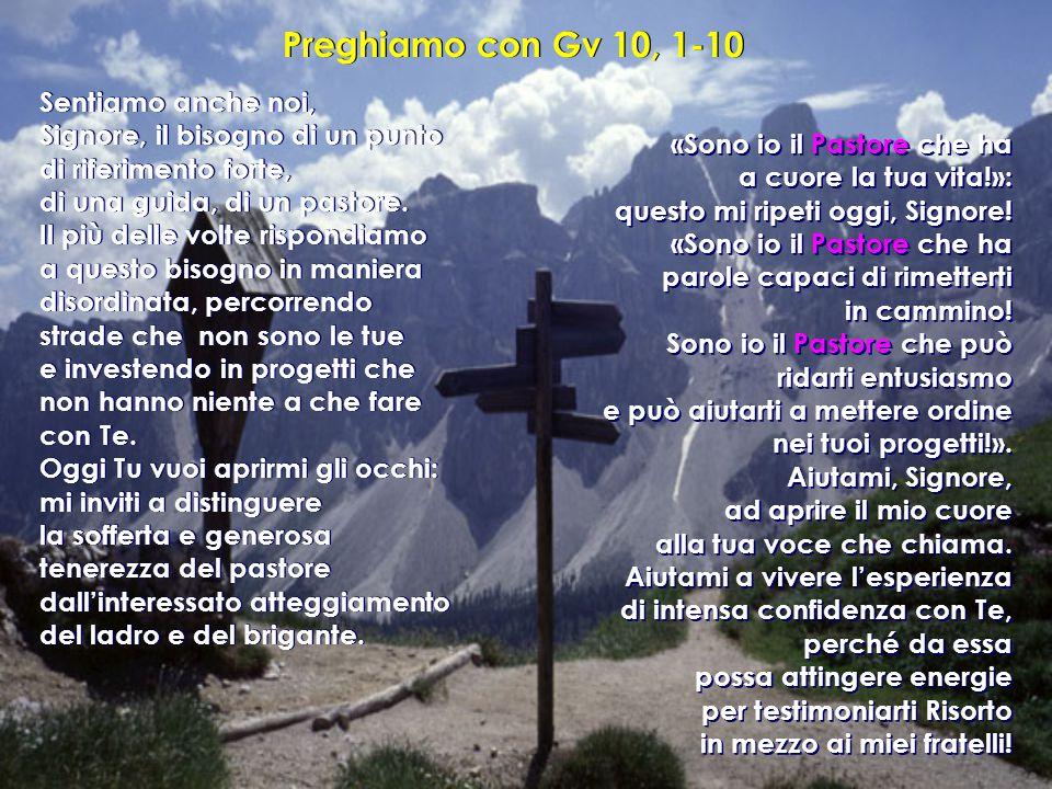 Preghiamo con Gv 10, 1-10