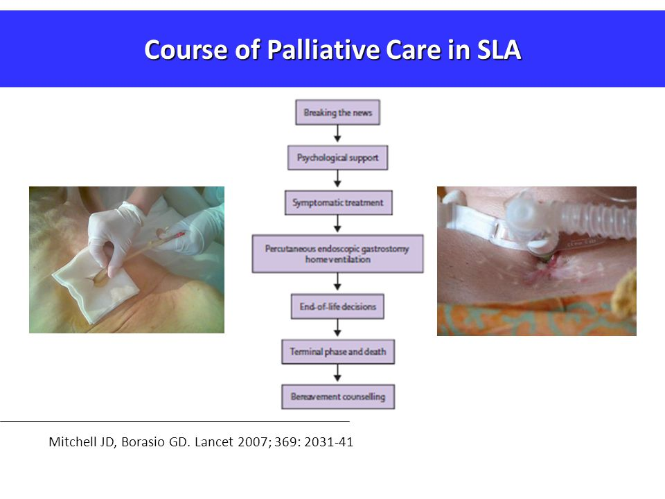 Course of Palliative Care in SLA
