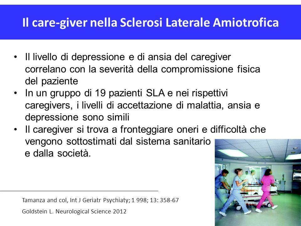 Il care-giver nella Sclerosi Laterale Amiotrofica