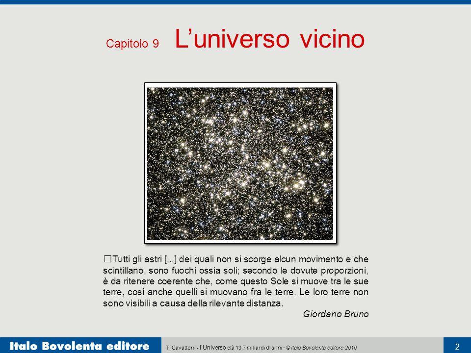 Capitolo 9 L'universo vicino
