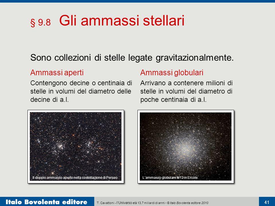 Sono collezioni di stelle legate gravitazionalmente.