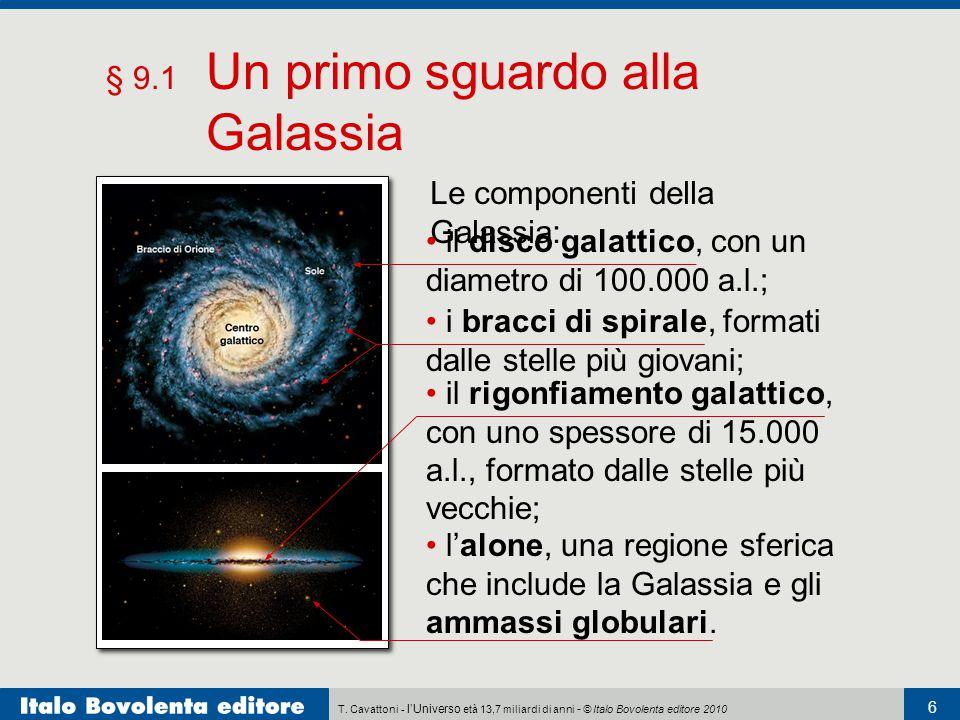 § 9.1 Un primo sguardo alla Galassia
