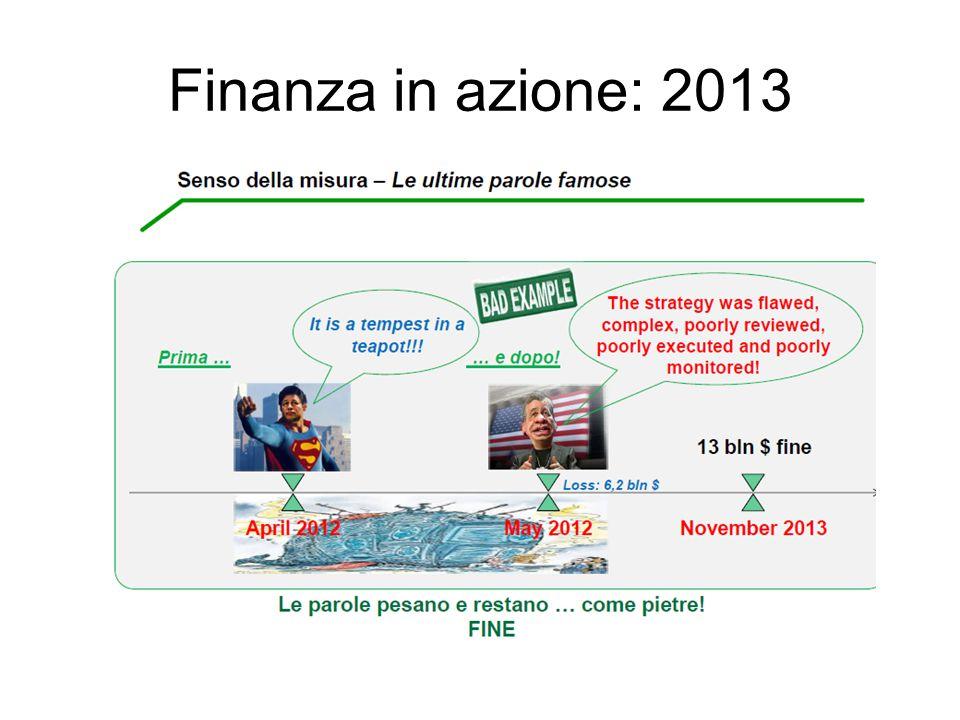 Finanza in azione: 2013
