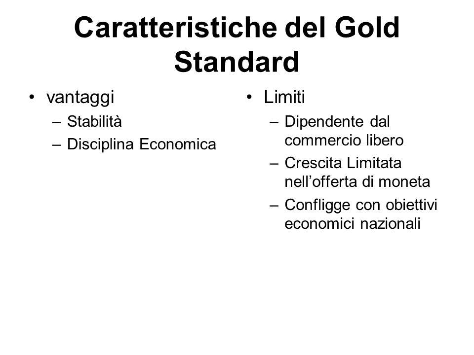 Caratteristiche del Gold Standard