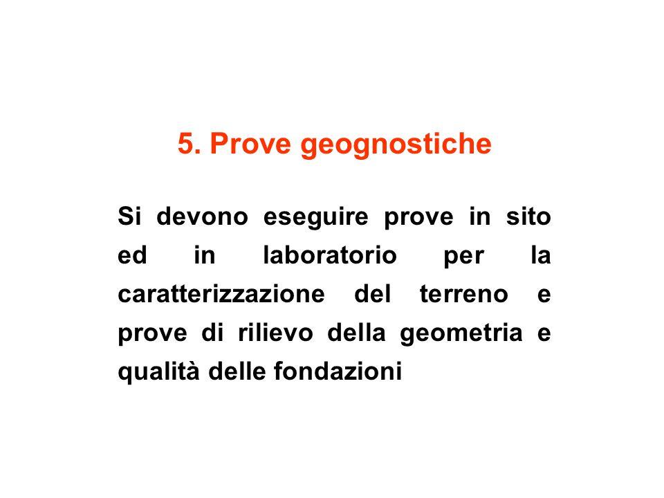 5. Prove geognostiche