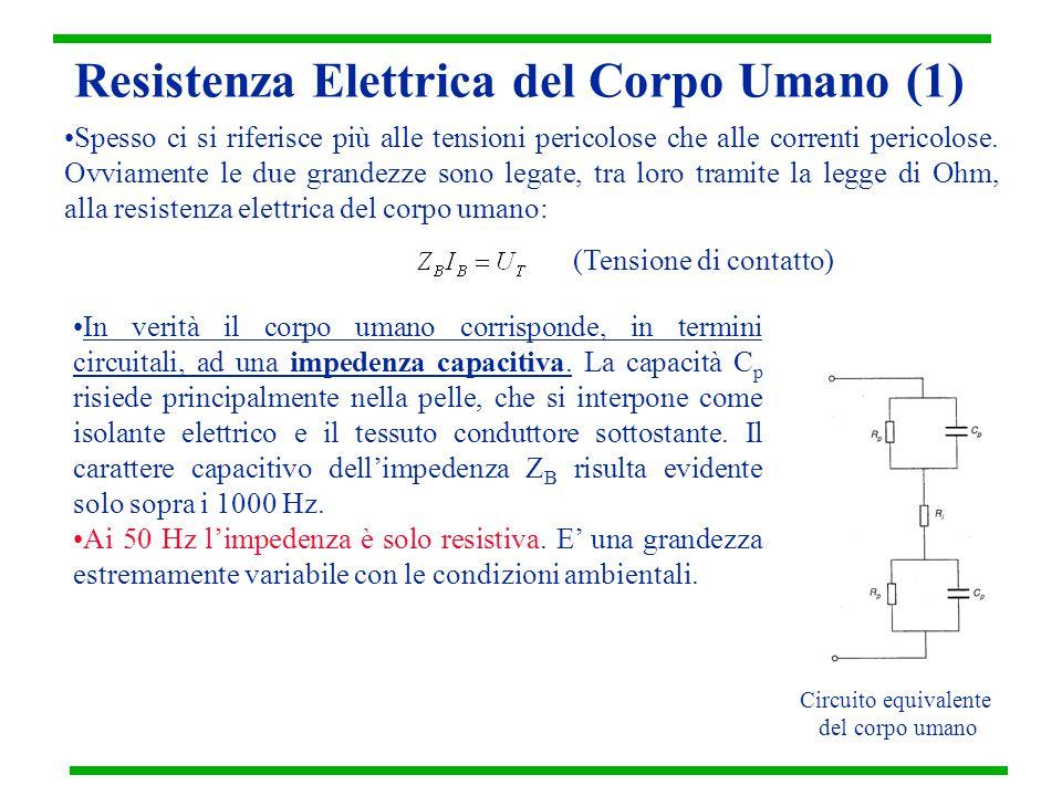 Resistenza Elettrica del Corpo Umano (1)