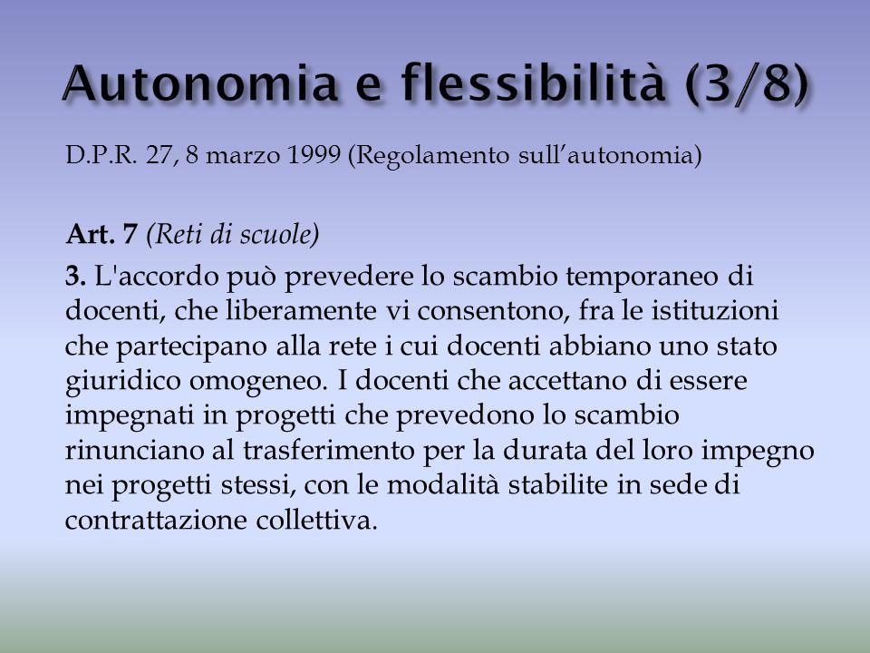 Autonomia e flessibilità (3/8)