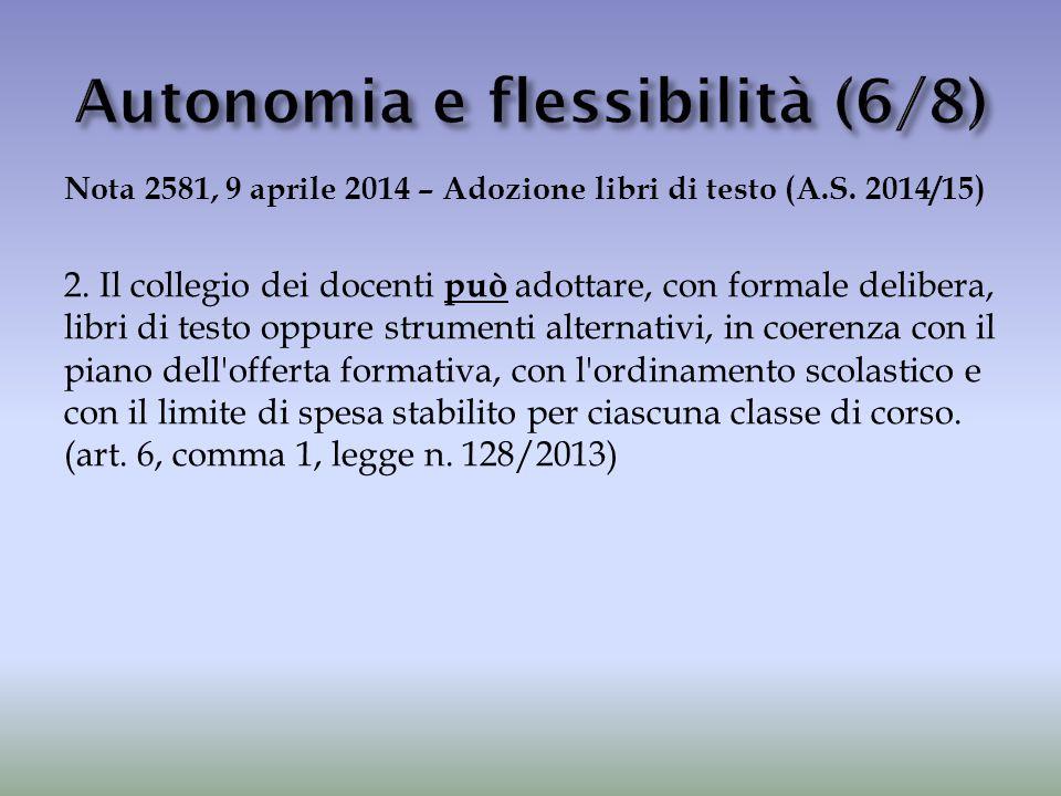 Autonomia e flessibilità (6/8)