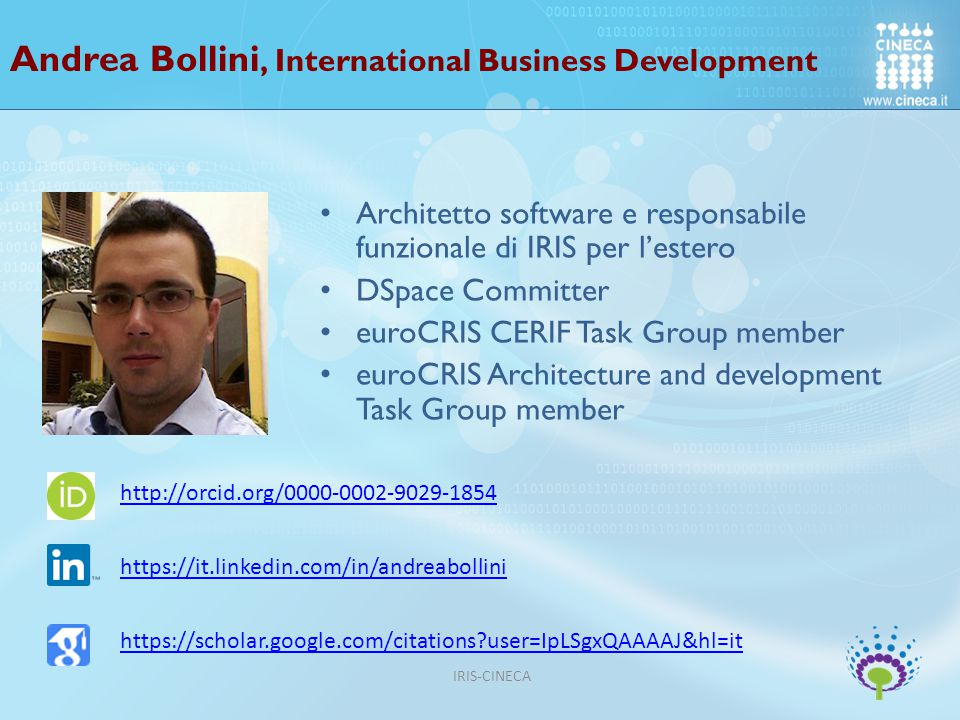 Andrea Bollini, International Business Development