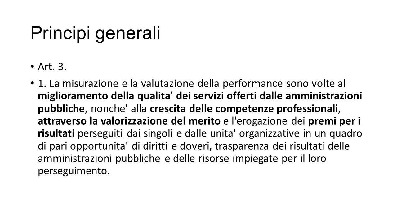 Principi generali Art. 3.