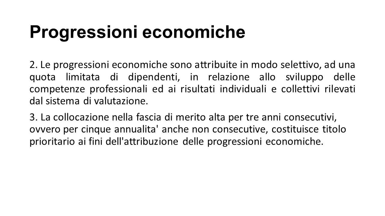 Progressioni economiche