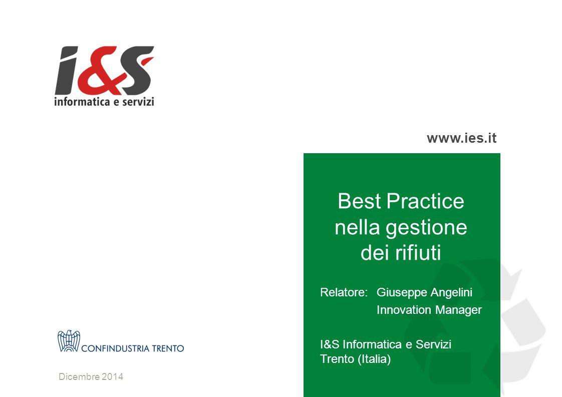 Best Practice nella gestione dei rifiuti